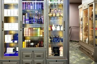 Boutique of jewellery and perfumery